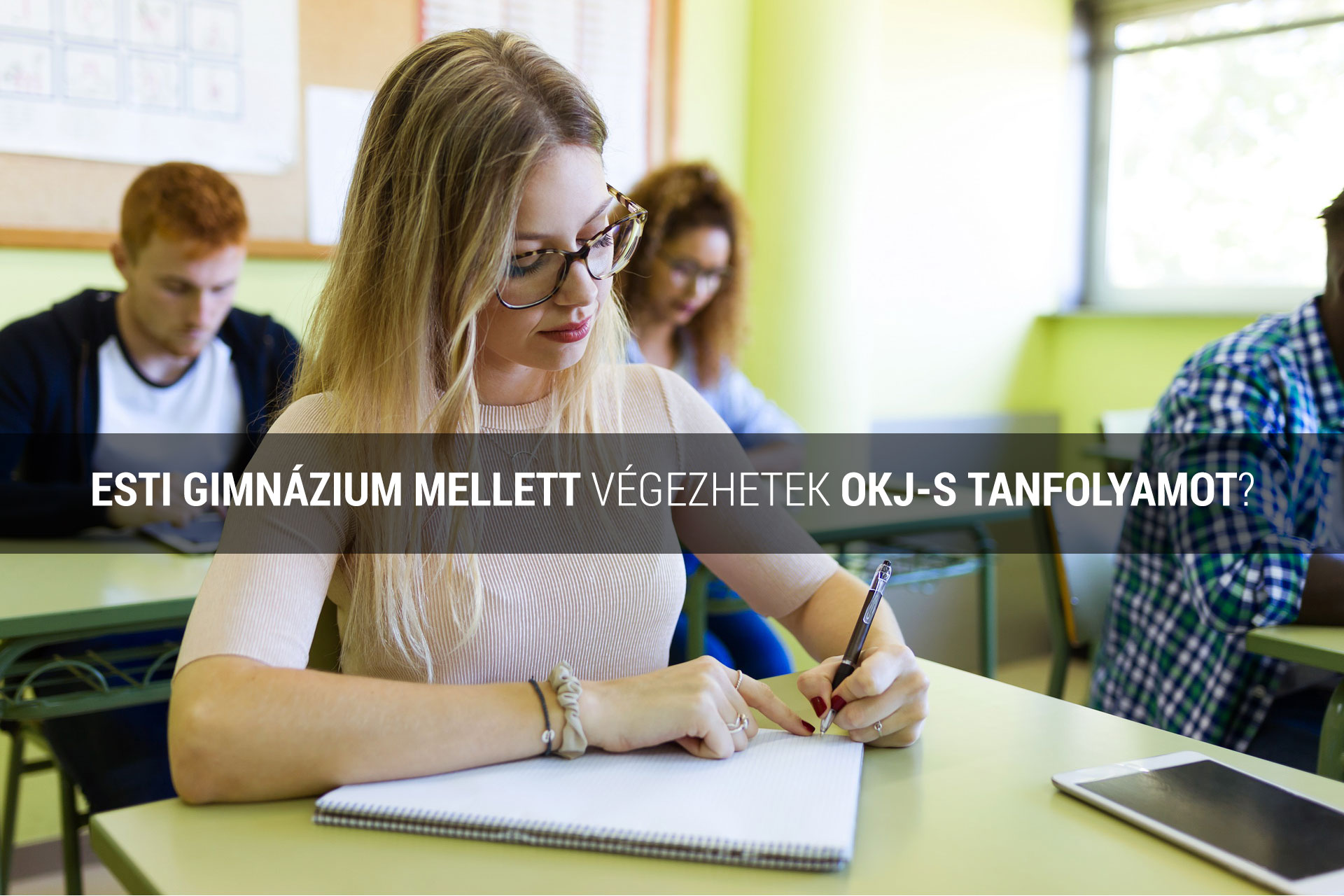 Esti gimnázium mellett OKJ tanfolyam