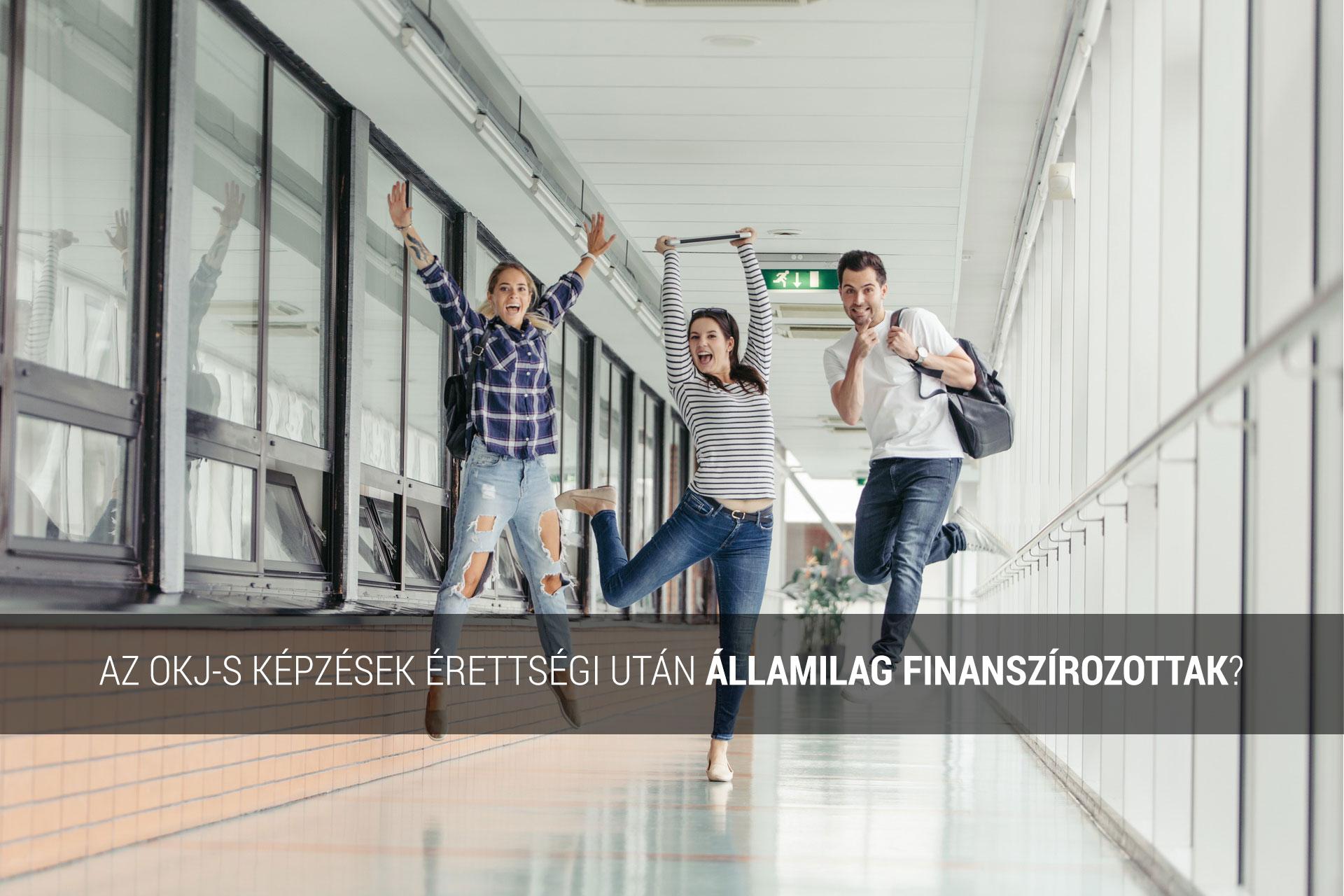 érettségi utáni államilag finanszírozott képzések